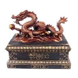 Coffre Dragon Chinois