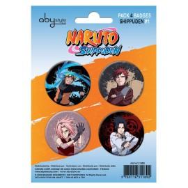 Badge Pack Naruto Shippuden