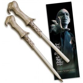 Stylo Baguette & Marque-Page Voldemort - Harry Potter