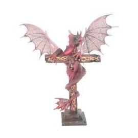 Le Vol du Dragon - Dragon Rouge sur Croix