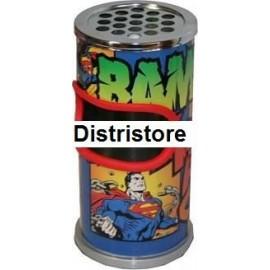 Corbeille Cendrier Superman