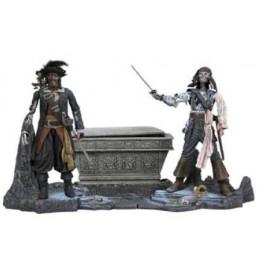 Deluxe Pirates des Caraibes Sparrow VS Barbossa