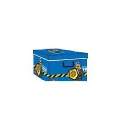 Boîte de Rangement Lego avec Poignées Triple Epaisseur Latérale