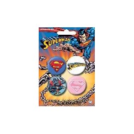 Badge Pack Superman