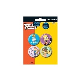 Badge Pack Simpsons Maman