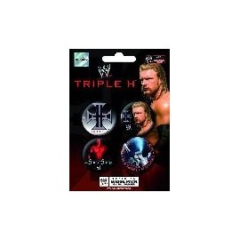 Badge Pack WWE Triple H King of Ring