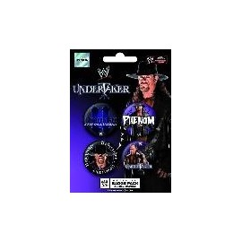 Badge Pack WWE Undertaker Phenom