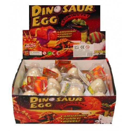Présentoir de 12 Oeufs de Dinosaure