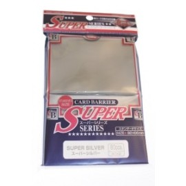 80 Protèges Cartes - 92x66mm - Card Barrier - Super Series - Sup