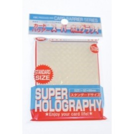 50 Protèges Cartes - 92x66mm - Card Barrier - Super Holography -