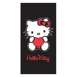 Grand Drap de Plage Hello Kitty