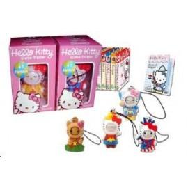 Figurine Hello Kitty Globe Trotter