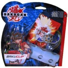 Bakugan un Bakuclip + un Bakugan + deux Cartes
