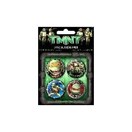 Badge Pack Tortues Ninja