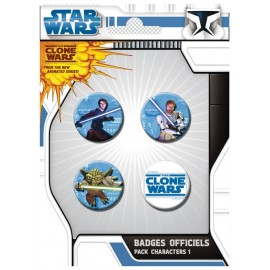 Badge Pack Clone Wars