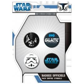 Badge Pack Stars Wars Empire Symbols