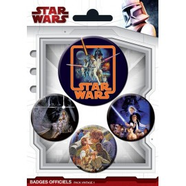 Badge Pack Stars Wars Vintage