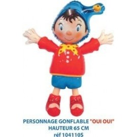 Personnage Oui Oui Gonflable