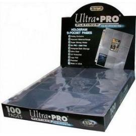 Présentoir de 100 Feuilles Ultra Pro Platinum