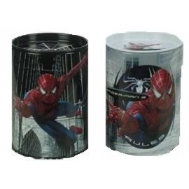 Tirelire ou Pot à Crayons Spiderman