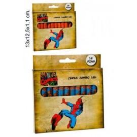 Crayons Gras Spiderman
