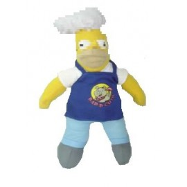 Peluche Simpson Homer Barbecue