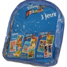 Sac Disney + 3 Jeux de Cartes
