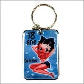 Porte Clés Betty Boop 18 ans ça le fait