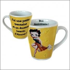 Mug Betty Boop Anniversaire Spécial 30 Ans
