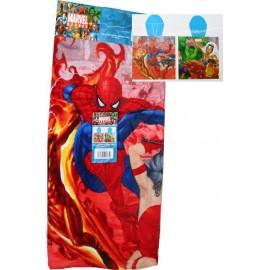 Poncho de Bain à Capuche Spiderman