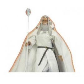 Figurine Gandalf du Seigneur des Anneaux Vetement en Tissus