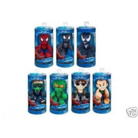 6 Peluches de Spiderman