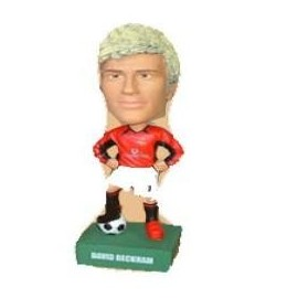 Bobbing head Football David Beckham Manchester United