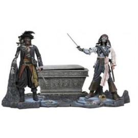 Deluxe Pirates des Caraibes Sparrow VS Barbossa
