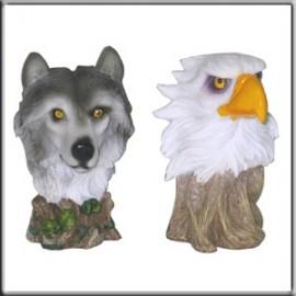 Tête de Loup et d'Aigle