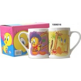 Set de 2 Mugs Titi Peintre