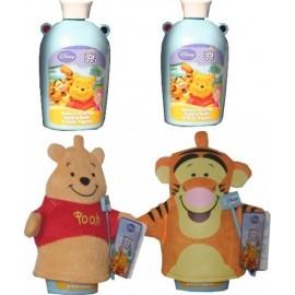 Marionnettes de Bain Winnie et Tigrou