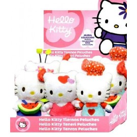 Lot de 5 Peluches Hello Kitty