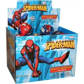 Mini Balle en Mousse Spiderman