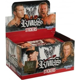 Présentoir de 50 Stickers WWE Rivals