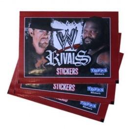 2 Pochettes de Stickers WWE Rivals
